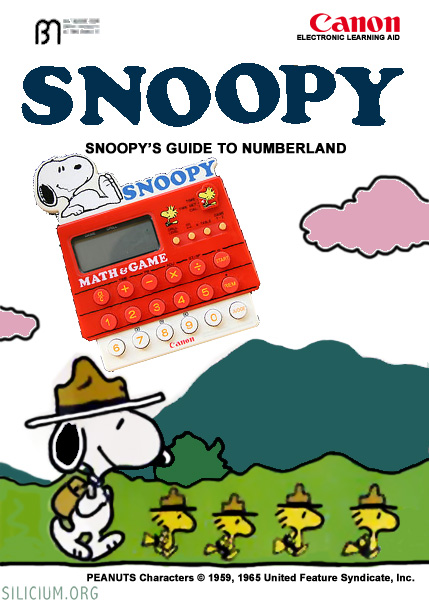 canon ms10 snoopy guide