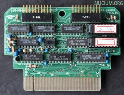 mpf2 floppy interface circuit