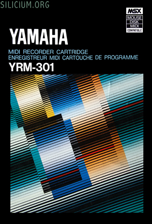 yamaha yrm 301 midi recorder cartridge box